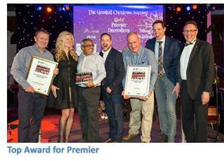 Garden Trade News, the event took place at the Majestic Hotel and entertainment was enjoyed by all. Premier Decorations, which is exhibiting in Hall H, ...