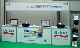 Registration Systems at Harrogate Nursery Fair